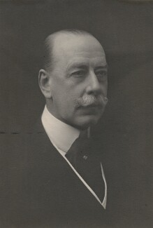 Lewis Harcourt, 1st Viscount Harcourt, by Walter Stoneman, late 1910s? - NPG x168115 - © National Portrait Gallery, London