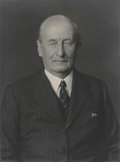 Charles Hardinge, 1st Baron Hardinge of Penshurst, by Walter Stoneman, 1939 - NPG x168122 - © National Portrait Gallery, London