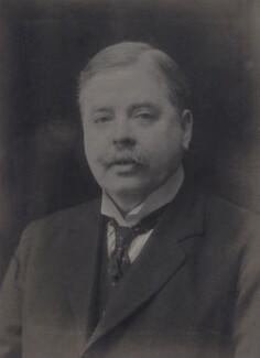 Sir (Robert) Leicester Harmsworth, 1st Bt, by Walter Stoneman - NPG x168141