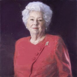 Betty Boothroyd, Baroness Boothroyd, by Brendan Kelly, 2014 - NPG  - © National Portrait Gallery, London