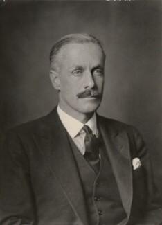 George St Vincent Harris, 5th Baron Harris, by Walter Stoneman - NPG x168153