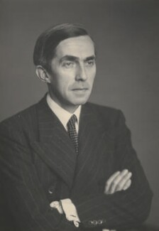 Sir Roy Harrod, by Walter Stoneman, 31 July 1947 - NPG x168173 - © National Portrait Gallery, London