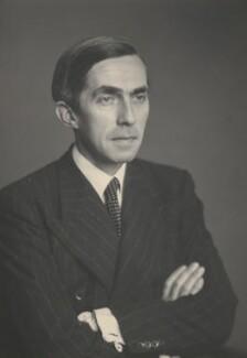 Sir Roy Harrod, by Walter Stoneman - NPG x168173
