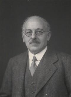 Sir Philip Joseph Hartog, by Walter Stoneman - NPG x168182