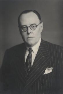 Oliver Charles Harvey, 1st Baron Harvey of Tasburgh, by Walter Stoneman - NPG x168190