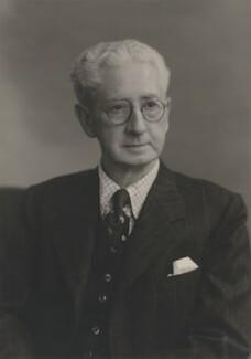 Sir Ralph Endersby Harwood, by Walter Stoneman - NPG x168195