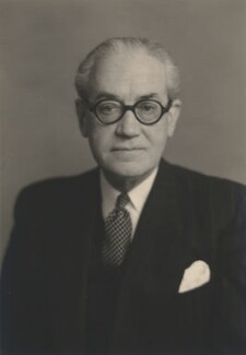 Sir (Edward) Anthony Hawke, by Walter Stoneman - NPG x168208