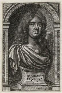 Abraham Cowley, by William Faithorne - NPG D42464