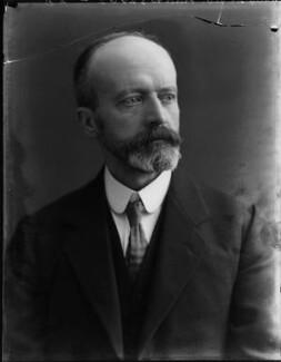 Sir George Vandeleur Fiddes, by Bassano Ltd - NPG x158448