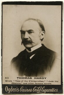 Thomas Hardy, by Francis Henry Hart, for  Elliott & Fry, published by  Ogden's - NPG x136531