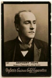 Sir Anthony Hope (Anthony Hope Hawkins), published by Ogden's - NPG x136533