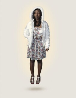 London 2012 Torch Bearer: Rhyania Blackett-Codrington, by Nadav Kander - NPG P1806
