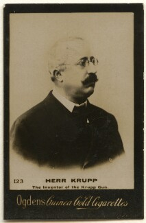 Friedrich Alfred Krupp, published by Ogden's - NPG x136540