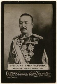 Marquess Taro Katsura, published by Ogden's - NPG x136543