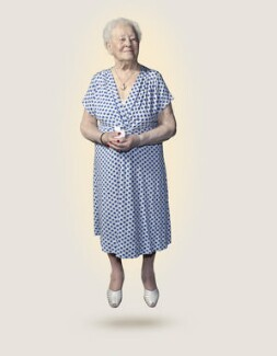 London 2012 Torch Bearer: Diana Gould, by Nadav Kander - NPG P1809