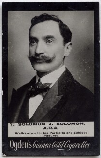 Solomon Joseph Solomon, published by Ogden's - NPG x136545
