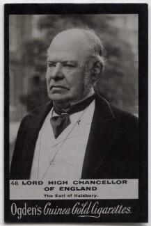 Hardinge Stanley Giffard, 1st Earl of Halsbury, published by Ogden's, published circa 1895-1905 - NPG x136549 - © National Portrait Gallery, London