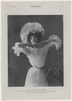 Florence Eliza Collingbourne as Nancy Staunton in 'Toreador', by Edward Lyddell Sawyer - NPG x136556