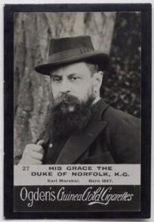 Henry Fitzalan-Howard, 15th Duke of Norfolk, published by Ogden's - NPG x136564