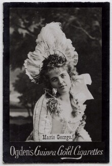 Marie George, published by Ogden's - NPG x136565
