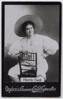 Florrie Forde (née Florence Flanagan), published by Ogden's - NPG x136567