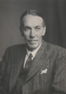 Sir Hubert Douglas Henderson, by Walter Stoneman - NPG x168259