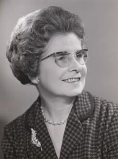 Margaret ('Peggy') McCrorie Herbison, by Walter Bird - NPG x168275