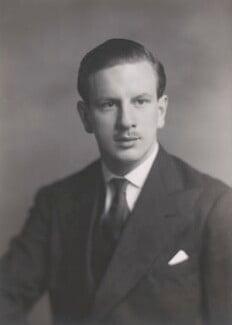 Robert Milo Leicester Devereux, 18th Viscount Hereford, by Walter Stoneman - NPG x168279