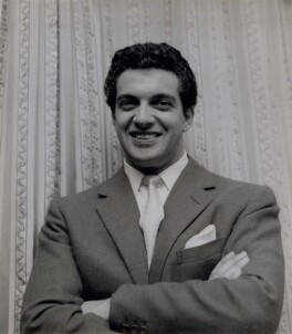 Frankie Vaughan, by Bob Collins - NPG x136592