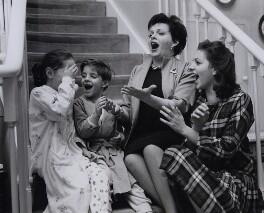 Judy Garland; Liza Minnelli; Lorna Luft and Joey Luft, by Bob Collins - NPG x136600