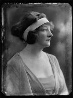 Gwladys Ethel Gwendolen Eugénie (née Sutherst), Marchioness Townshend (later le Stange), by Bassano Ltd - NPG x158474