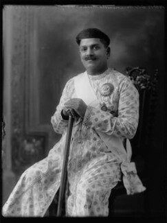 Sir Sayaji Rao III, Maharaja of Baroda, by Bassano Ltd - NPG x158486