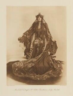 Violet Vanbrugh (Violet Augusta Mary Barnes) as Lady Macbeth in 'Macbeth', by Lallie Charles, published by  Hudson & Kearns Ltd - NPG Ax135795