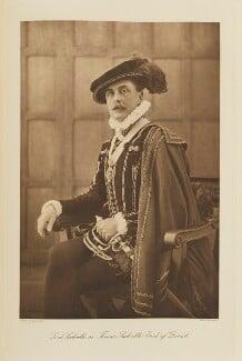 Lionel Edward Sackville-West, 3rd Baron Sackville as Thomas Sackville, Earl of Dorset, by Speaight Ltd, published by  Hudson & Kearns Ltd - NPG Ax135798