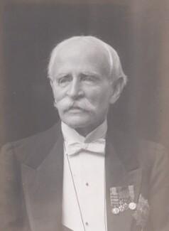 Sir George Wentworth Alexander Higginson, by Walter Stoneman - NPG x168303