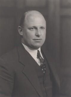 Sir William Vallance Douglas Hodge, by Walter Stoneman - NPG x168346