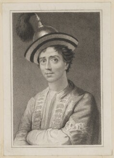 Edward Fitzwilliam as O'Gallagher in 'The Travellers', by Thomas Woolnoth, after  Thomas Charles Wageman, published by  Simpkin and Marshall - NPG D38695