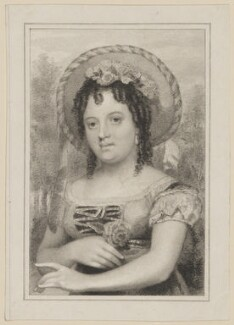 Miss Hallande as Sylvia in 'The Two Gentlemen of Verona', by Thomas Woolnoth, after  Thomas Charles Wageman, published by  Simpkin and Marshall, Published 1822 - NPG  - © National Portrait Gallery, London
