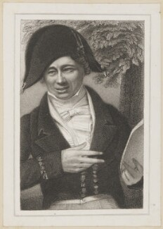 Samuel Thomas Russell as Sparkish, by James Thomson (Thompson), after  Thomas Charles Wageman, published by  Simpkin and Marshall - NPG D38699