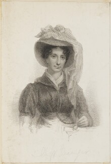 Elizabeth Ogilvie Benger, by Thomas Woolnoth, after  Thomas Charles Wageman, published by  Dean & Munday - NPG D42495