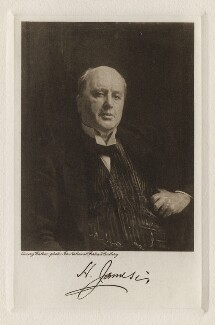 Henry James, by and published by Houghton Mifflin Company, after  Sir Emery Walker, after  John Singer Sargent, 1916 (1913) - NPG D42568 - © National Portrait Gallery, London