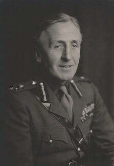 Sir Brian Gwynne Horrocks, by Walter Stoneman - NPG x168423
