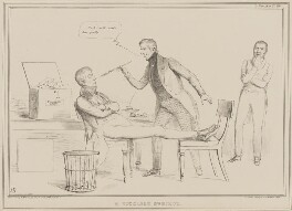 A Ticklish Subject, by John ('HB') Doyle, printed by  Alfred Ducôte, published by  Thomas McLean - NPG D41444