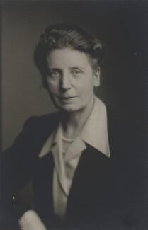 Florence Gertrude Horsbrugh, Baroness Horsbrugh, by Walter Stoneman - NPG x168424