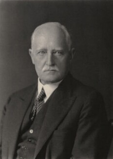 Esme William Howard, 1st Baron Howard, by Walter Stoneman - NPG x168433