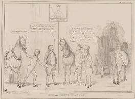 Old and Young Stagers, by John ('HB') Doyle, printed by  Alfred Ducôte, published by  Thomas McLean - NPG D41454