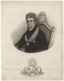 Waller Rodwell Wright, by Charles Knight, published by and after  Edmund Scott - NPG D42569