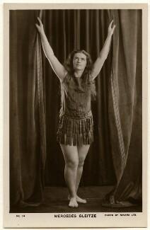 Mercedes Gleitze, by Navana Ltd, 1930s - NPG x136621 - © National Portrait Gallery, London