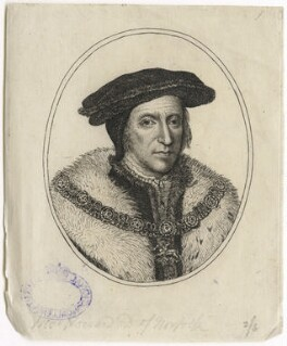 Thomas Howard, 3rd Duke of Norfolk, after Hans Holbein the Younger - NPG D42570