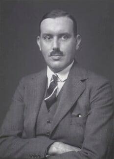 Sir Austin Uvedale Morgan Hudson, by Walter Stoneman - NPG x168459